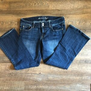 American Eagle low-rise Artist jeans